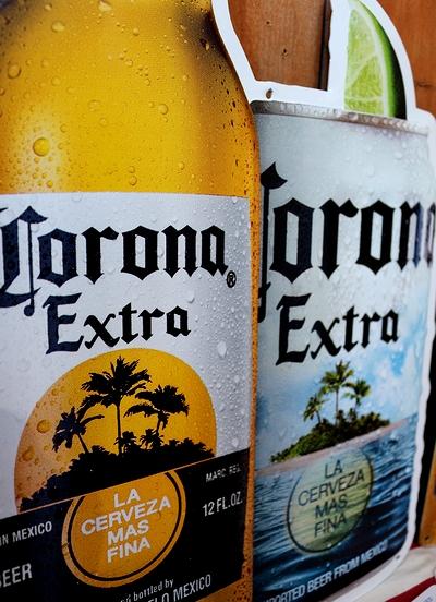 コロナ看板 コロナビール看板 ビンコロナ看板 ヤシの木コロナビール アメリカ雑貨屋 サンブリッヂ ビール看板通販