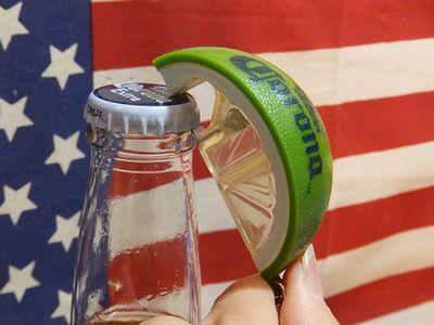 コロナビール ライム型 栓抜き ボトルオープナー CORONA メキシコ ワイルドスピード アメリカ雑貨屋 サンブリッヂ