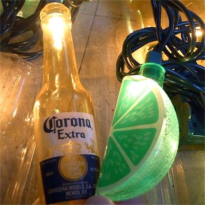コロナボトルライト ガーランドライト コロナビール CORONA アメリカ雑貨屋 サンブリッヂ
