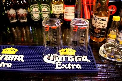 コロナバーラバーマット グラス水切りBARマット CORONA アメリカ雑貨屋 サンブリッヂ