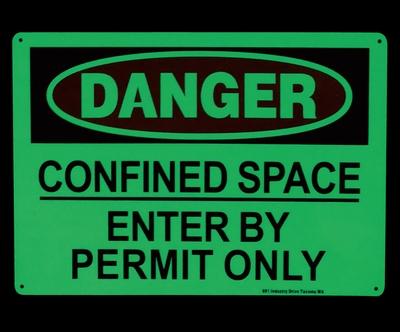 セキュリティ看板 危険看板 畜光看板 立入禁止看板 アメリカ雑貨屋 サンブリッヂ アメリカ雑貨通販