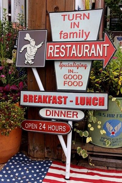 アメリカンウォールデコ看板 アメリカレストラン看板 ガレージ看板 アメリカ雑貨屋 サンブリッヂ 看板通販