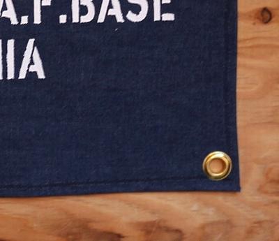 デニムタペストリー デニムバナー ステンシルインテリア アメリカ雑貨通販 SUNBRIDGE 岩手雑貨屋