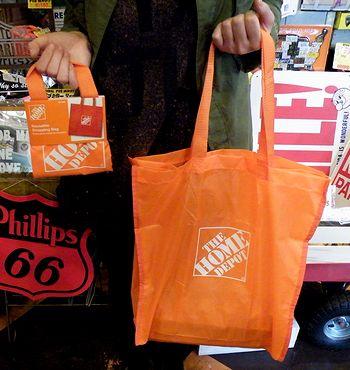 ECO BAG エコバッグ ホームデポ HOME DEPO アメリカ雑貨 SUNBRIDGE サンブリッヂ さんぶりっぢ 岩手 雑貨通販