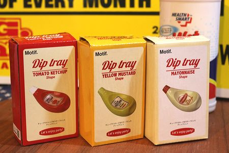 ディップトレイ 調味料皿 調味料トレイ ケチャップ マヨネーズ マスタード アメリカ雑貨 通販 アメリカ雑貨屋