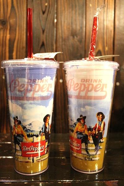 ドクターペッパーストロー付き ドクターペッパー Dr.Pepper シッパーカップ アウトドアボトル アメリカ雑貨屋 サンブリッヂ 通販