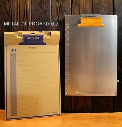ダルトンメタルクリップボード  A4クリップボード  ダルトン文具 DULTON アメリカ雑貨屋 サンブリッヂ アメリカン雑貨通販