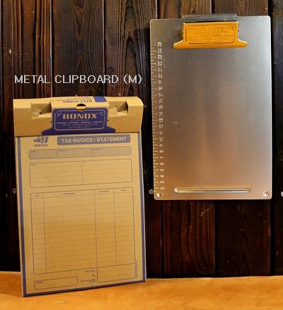 ダルトンメタルクリップボード  B5クリップボード  ダルトン文具 DULTON アメリカ雑貨屋 サンブリッヂ アメリカン雑貨通販