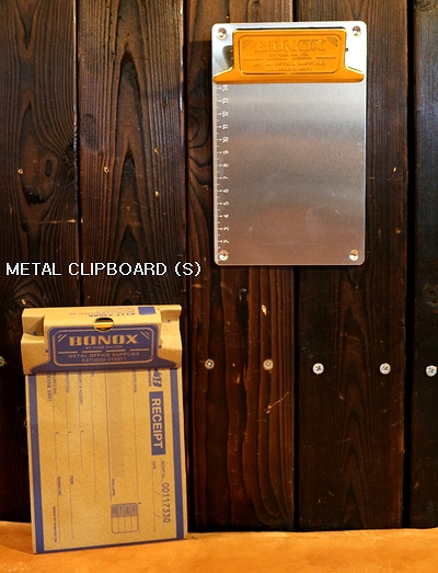ダルトンメタルクリップボード A6クリップボード  ダルトン文具 DULTON アメリカ雑貨屋 サンブリッヂ アメリカン雑貨通販