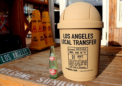 カルチャーマートダストボックス フタ付きゴミ箱 ロサンゼルスゴミ箱 アメリカ雑貨屋