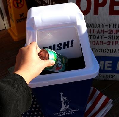 アメリカンダストピン アメリカンゴミ箱 自由の女神 LIBERTY アメリカ雑貨屋 サンブリッヂ 通販