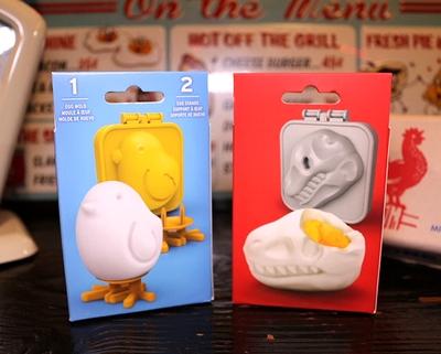 ボイルドエッグモールドディノ 恐竜ゆで卵 Fred キャラ弁グッズ キャラ弁卵 アメリカ雑貨屋 サンブリッヂ 通販