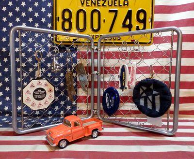 フェンス アメリカンミニフェンス アメリカのフェンス 卓上金網 アメリカ雑貨屋 サンブリッヂ