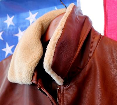 フライトジャケット ステンシルジャケット ミリタリージャケット レザージャケット アメリカン雑貨通販 SUNBRIDGE サンブリッヂ