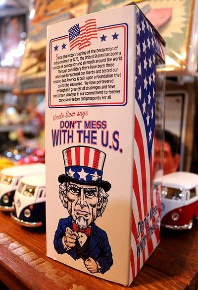 アンクルサムボビングヘッド アンクルサムボビングドール 首振り人形 アメリカ雑貨屋 サンブリッヂ 通販