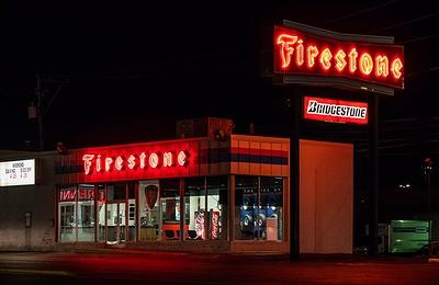 ファイヤーストーンタンブラー ファイヤーストーングッズ  Firestone アメリカ雑貨屋 サンブリッヂ アメリカン雑貨 通販