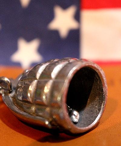ガーディアンベル 手榴弾ガーディアンベル バイカーズベル バイカーのお守り アメリカ雑貨屋 サンブリッヂ 通販