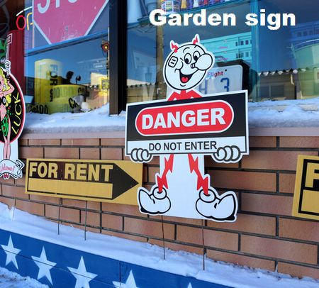 レディキロワット ガーデン看板 ガーデンサイン ガーデニング 看板 アメリカ雑貨 アメリカ雑貨通販 サンブリッヂ 通販商品