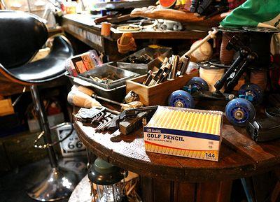 ゴルフペンシル ゴルフスコア鉛筆 アメリカ鉛筆 BAZIC鉛筆 アメリカ雑貨屋 サンブリッヂ アメリカ文具通販