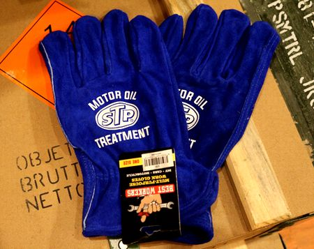 ワークグローブ 牛革 手袋 DIY手袋 STP アメリカ雑貨 アメリカ雑貨通販 サンブリッヂ 通販商品