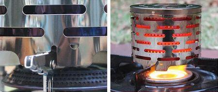 遠赤ヒーター アタッチメント アウトドア ストーブ キャンプ ガスコンロストーブ キャンプ用品 アウトドア用品 サンブリッヂ