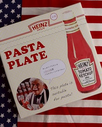 ハインツ皿 ハインツパスタプレート  HEINZ皿 ハインツ食器 アメリカ雑貨屋 SUNBRIDGE サンブリッヂ アメリカン雑貨 通販