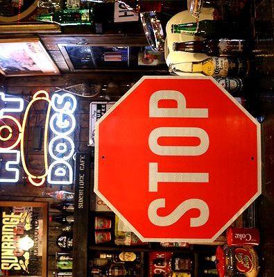ハイウェイ看板 STOP看板 ストップ アメリカ雑貨通販 サンブリッヂ 道路標識
