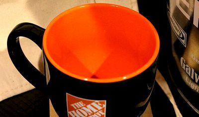 ホームデポマグカップ アメリカホームセンターマグ 企業マグ ガレージ アメリカ雑貨屋 サンブリッヂ 看板通販
