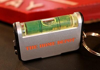 ホームデポツールキーホルダー ホームデポキーホルダー HOMEDEPOT アメリカ雑貨通販 サンブリッヂ SUNBRIDGE