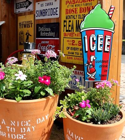 アイシー看板 アイシーカップ看板 アメリカフローズン ICEE アメリカ雑貨屋 サンブリッヂ アメリカン雑貨 通販
