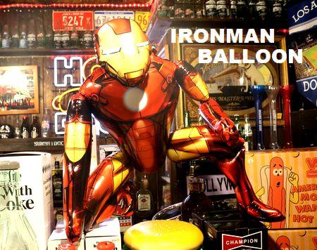 アイアンマン バルーン 風船 マーベル デコレーション 誕生日 記念日 アメリカ雑貨 通販 アメリカ雑貨屋 サンブリッヂ