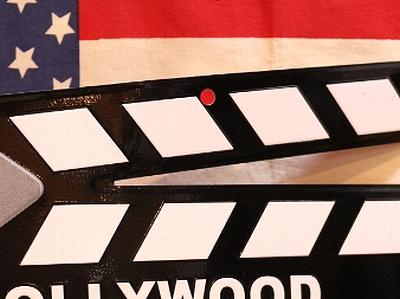 カチンコ看板 ブリキ看板 映画グッズ アメリカ アメリカ雑貨屋 サンブリッヂ通販
