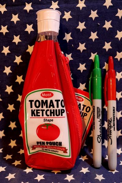 ペチャっプポーチ  ケチャップペンケース アメリカ雑貨通販 アメリカ雑貨屋 サンブリッヂ