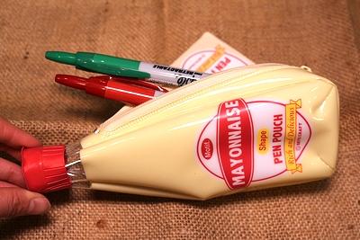 マヨネーズペンケース マヨネーズポーチ アメリカ雑貨通販 アメリカ雑貨屋 サンブリッヂ 通販