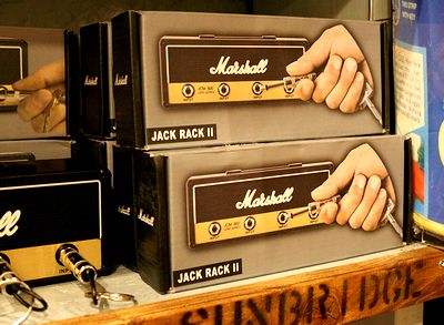 マーシャルアンプキーフック ギターアンプキーフック マーシャル鍵かけ  アメリカ雑貨屋 サンブリッヂ