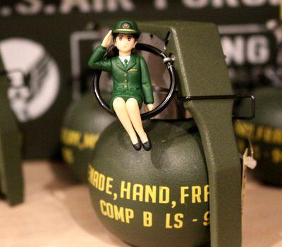 自衛隊 フチ子 ふち子 陸自 女子  アメリカ雑貨 通販 サンブリッヂ