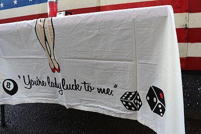 レディラックテーブルクロス ラットフィンクエド・ロス アメリカンテーブルクロス レディラック通販 アメリカ雑貨屋 サンブリッヂ