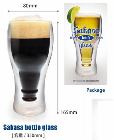 2重構造ビアグラス インサイドビアグラス LELAXビアグラス サンブリッヂ アメリカン雑貨 通販