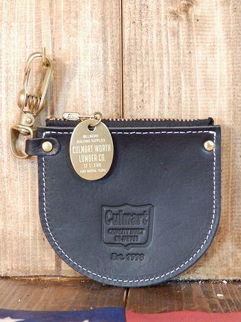 レザーコインケース フック付き 天然レザー 日本製 CULTURE MART アメリカ雑貨屋 SUNBRIDGE