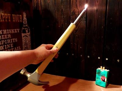 ハンマーライター トンカチ アウトドア火 アメリカ雑貨屋 サンブリッヂ