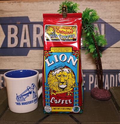ライオンコーヒー オリジナルライオン フレーバーコーヒー ハワイ LION COFFEE アメリカ雑貨屋 SUNBRIDGE アメリカン雑貨 通販