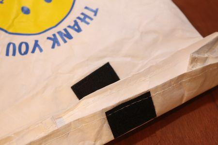 ランチバッグ スマイル 弁当入れ 紙 保冷バッグ アメリカ雑貨 通販 アメリカ雑貨屋 サンブリッヂ