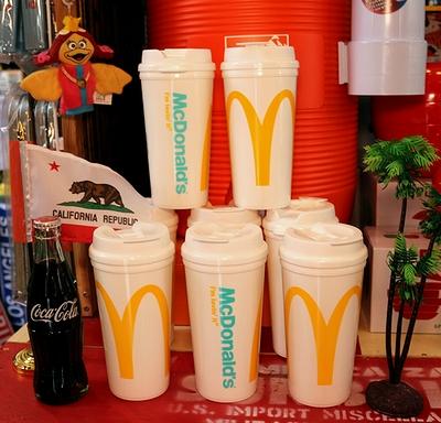 アメリカマクドナルドタンブラー アメリカマックグッズ McDonald's アメリカン雑貨 通販 アメリカ雑貨屋 サンブリッヂ