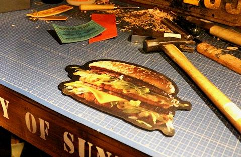 アメリカマクドナルドマウスパッド アメリカマックグッズ McDonald's アメリカン雑貨 通販 アメリカ雑貨屋 サンブリッヂ