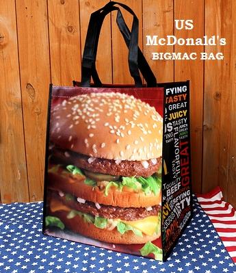 マクドナルドバッグ マックバッグ アメリカマクドナルドバッグ レジャーバッグ アメリカ雑貨屋 サンブリッヂ USA雑貨通販
