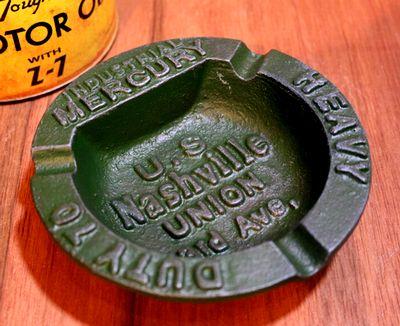 マーキュリー灰皿 MERCURY 鉄灰皿 おしゃれ灰皿 アメリカン灰皿 アメリカ雑貨屋 サンブリッヂ ミラー通販