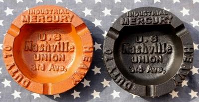 マーキュリーラウンドアシュトレイ アイアン灰皿 アメリカン灰皿 アメリカ雑貨屋 サンブリッヂ 通販