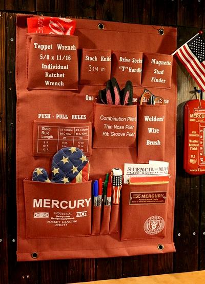 マーキュリーハンギングポケット マーキュリーウォールポケット マーキュリーポケット MERCURY アメリカ雑貨屋 サンブリッヂ