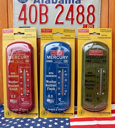マーキュリーサーモメーター マーキュリー温度計 マーキュリーインテリア アメリカ雑貨屋 サンブリッヂ