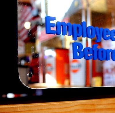 ミラーサイン アメリカ工場ミラー 職場ミラー アメリカ雑貨通販 アメリカ雑貨屋 サンブリッヂ